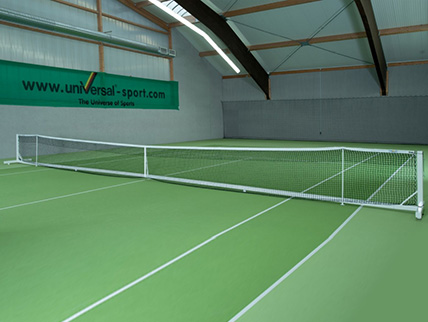 TENNIS NET SYSTEM COURT ROYAL II TOURNAMENT